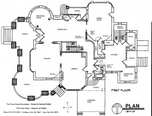 Blueprint-First Floor