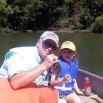 Lauren's First Fish